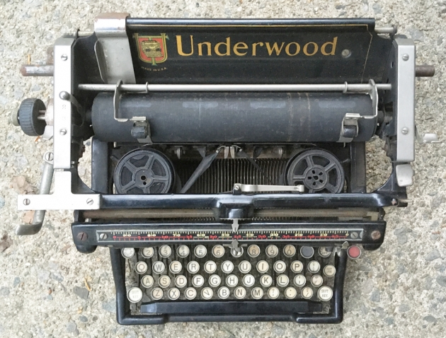 """Underwood """"5"""" from the top..."""