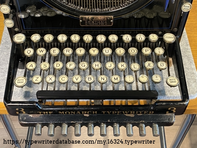 Norwegian keyboard layout pre 1917 when the letter Å was formally introduced.