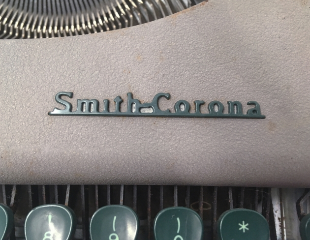 """Smith Corona """"Skyriter"""" from the maker logo on the top..."""