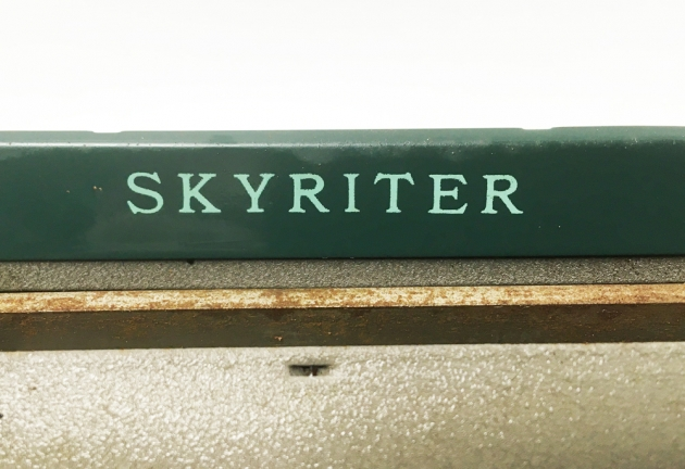 """Smith Corona """"Skyriter"""" from the model logo on the top..."""