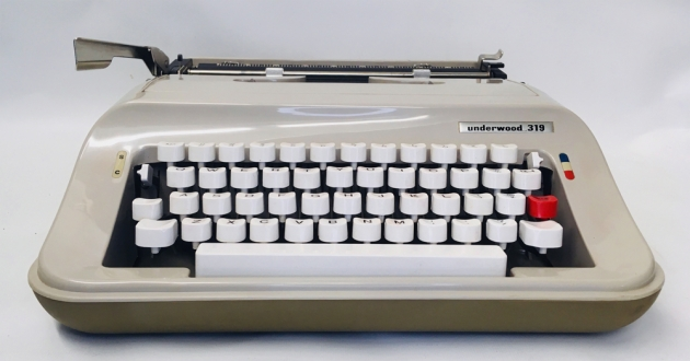 """Underwood """"319"""" from the front..."""