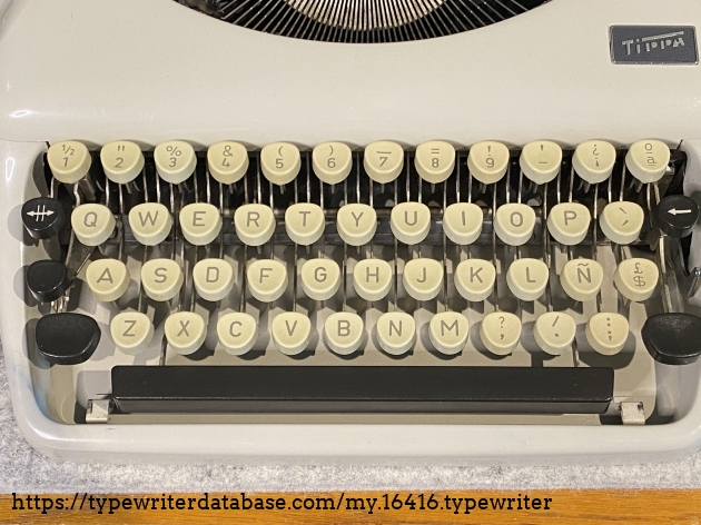 Spanish keyboard layout