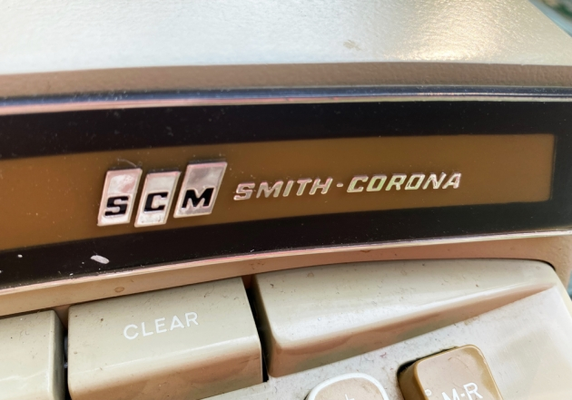 """Smith Corona """"Coronet Super 12"""" from the maker logo on the front..."""