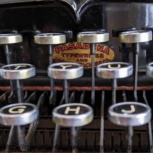 Pasadena Typewriter and Adding Machine Co.