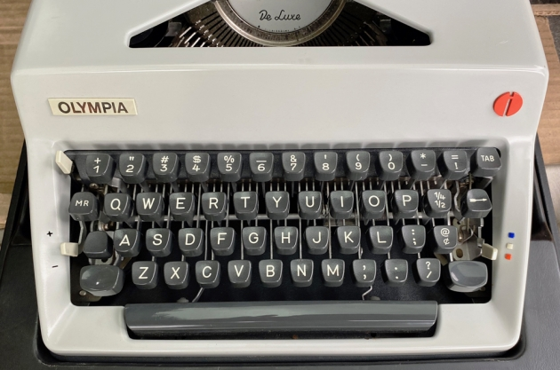 """Olympia """"SM9"""" from the keyboard..."""