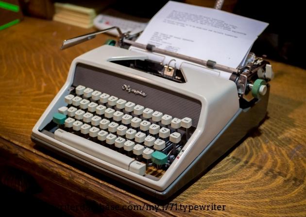 1961 Olympia Sm7 Typewriter 1928963 Twdb