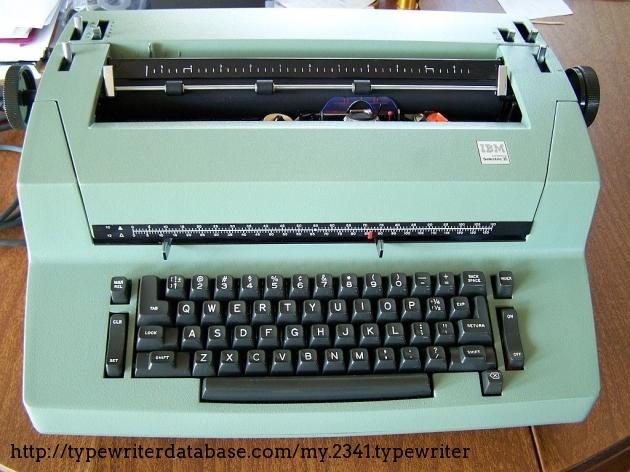 1975 Ibm Selectric Ii Typewriter 26 1391310 Twdb