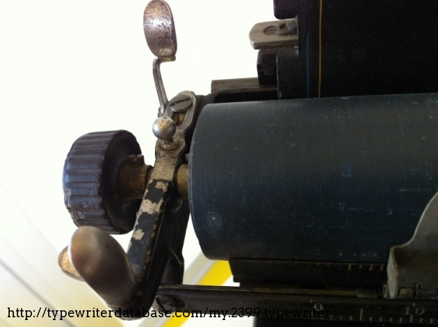 You can remove the platen just loosing two screws on the side, and opening the lock.