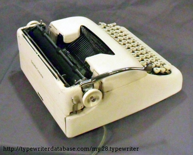 1959 Smith Corona Electric Portable Typewriter  5te183849 Twdb