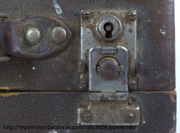 Lock patent GB176669, 16 March 1922, by Charles William Cheney.