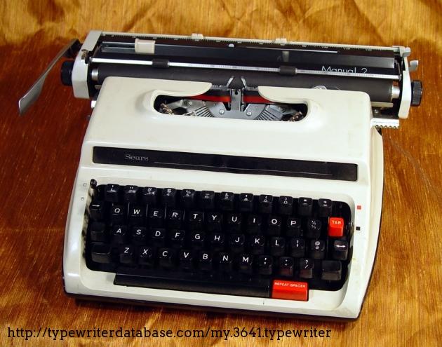 1976 sears brother manual 2 jp 5 typewriter f6305390 twdb rh typewriterdatabase com brother typewriter manual ml 300 brother typewriter manual free