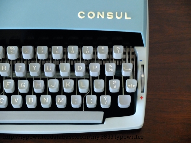 1972 consul 235 typewriter 2 235 073012 twdb for Consul database