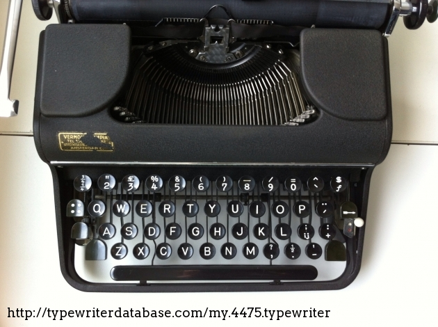 Olympia SM1: Dutch keyboard lay-out