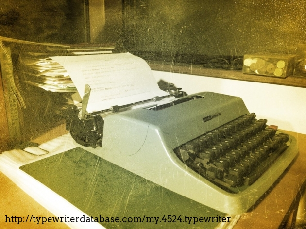 Romanticised my appalling desk with a bit of phone camera fun.
