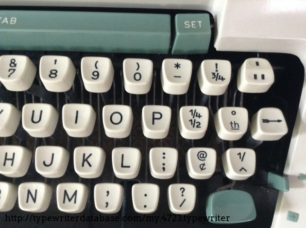 double spacing key