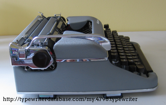 olympia carrera deluxe typewriter manual