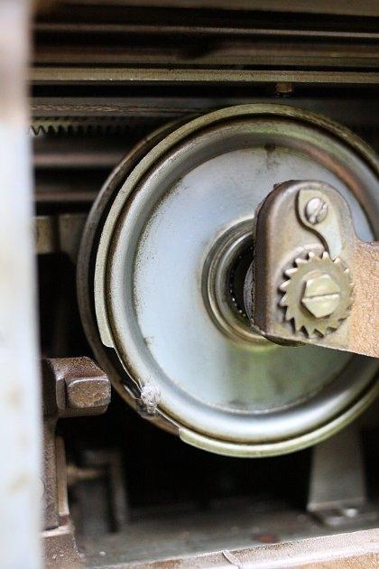 The mainspring wheel