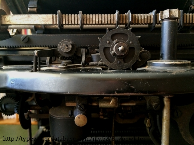 The Escapement Central, and next to it, the Tabulator Tower