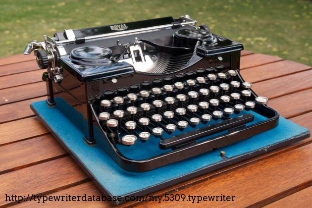 1930 royal p typewriter  p88