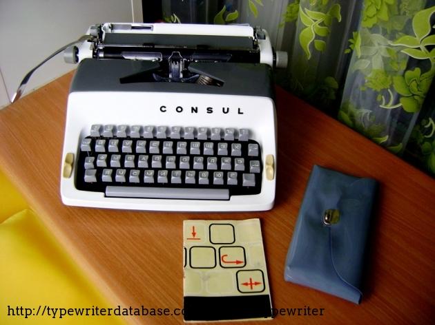 1967 consul 221 typewriter 7 221 063431 twdb for Consul database