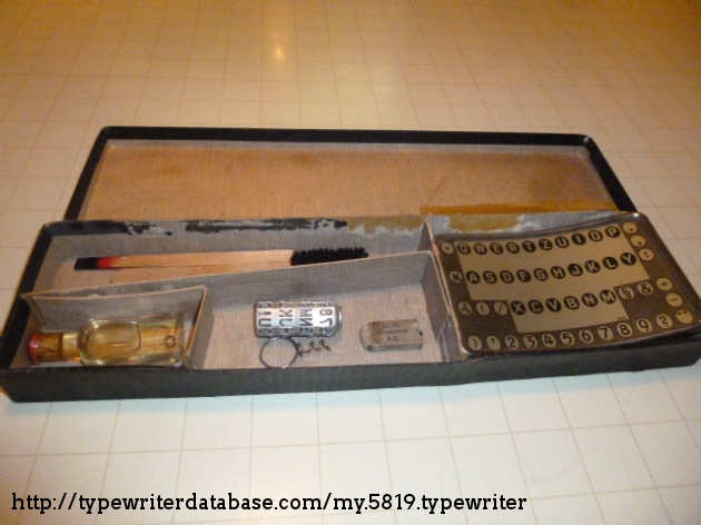 spare parts box (open)