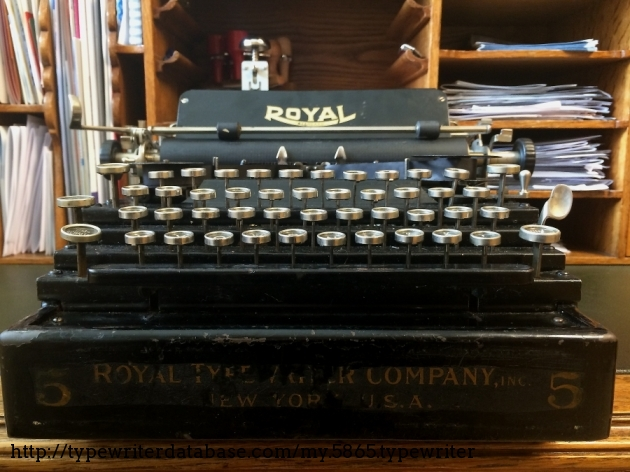 Stairway to typewriter heaven!