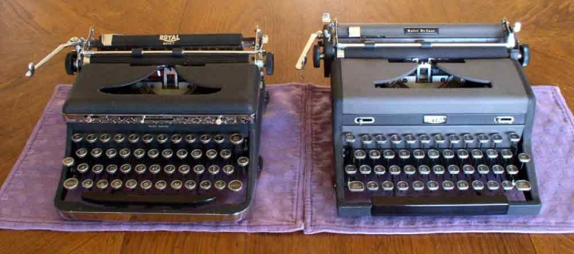 These next tree pics show the relative sizes of a 1937 Quiet and a 1949 Quiet DeLuxe designed by Dreyfus.