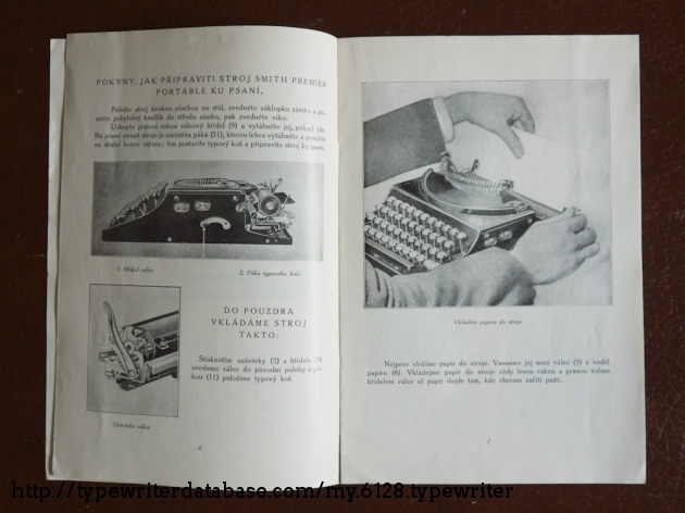 Manual in Czech language
