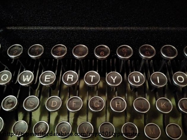My keyboard restoration process