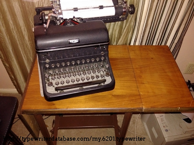 1950s typist table purchased for my KMM 1939