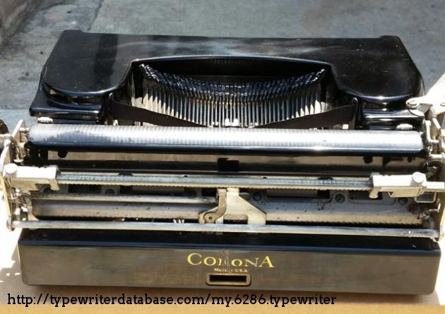 back side of corona