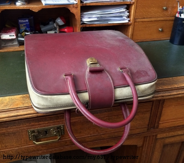 Case in original condition: DIRTY