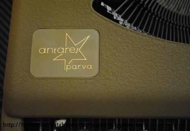Antares Parva brand plate