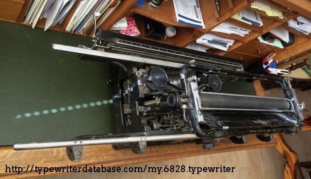 This doesn´t even look like a typewriter...