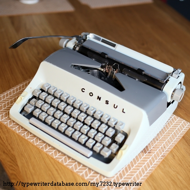 1968 consul 221 typewriter 8 221 128001 twdb for Consul database