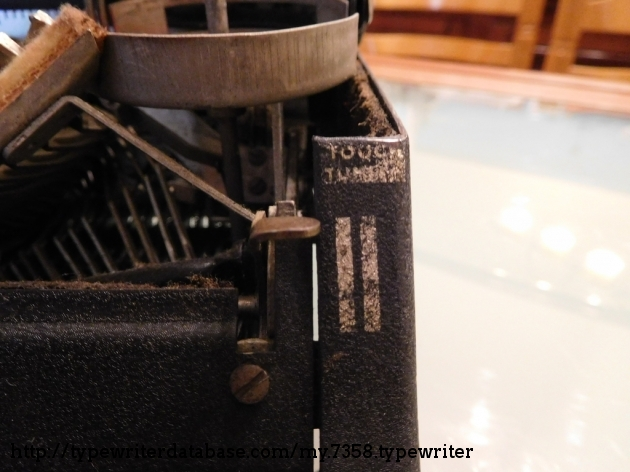 Touch Tuning lever