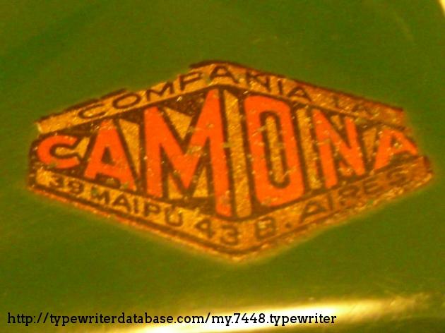 "Argentinian sole distributors, the ""La Camona"" company (long time gone)."