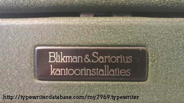 Blikman & Sartorius Office Equipment (since 1790)