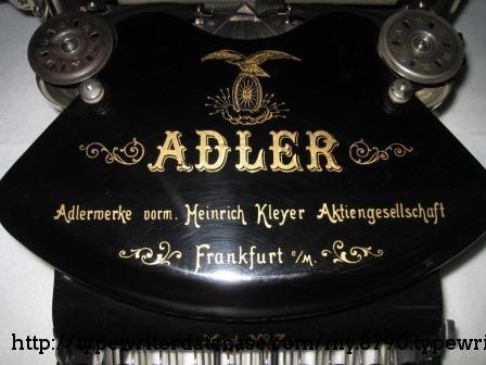 Adler decaling