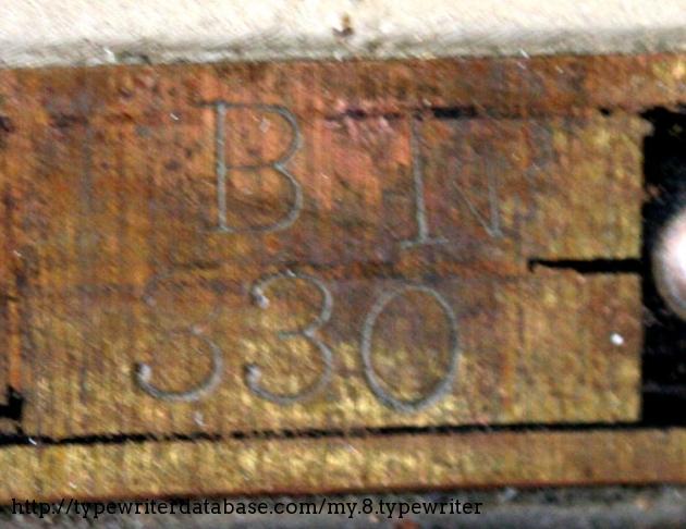 Serial number is BN 330