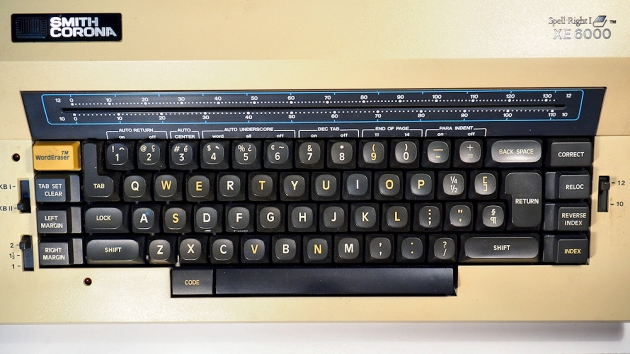 19xx Smith Corona Xe6000 On The Typewriter Database