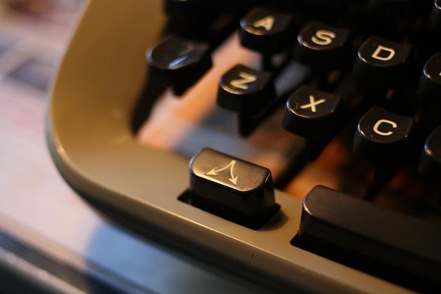 The typebar unblocking key