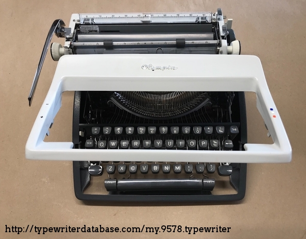 The Delorean of typewriters?