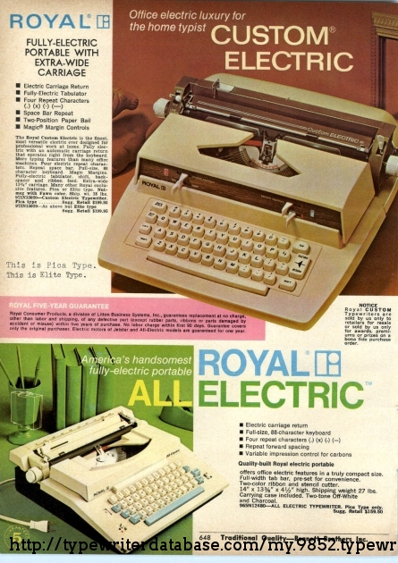 The Custom Electric is a Jetstar with faux-wood paneling. 1970 ad.