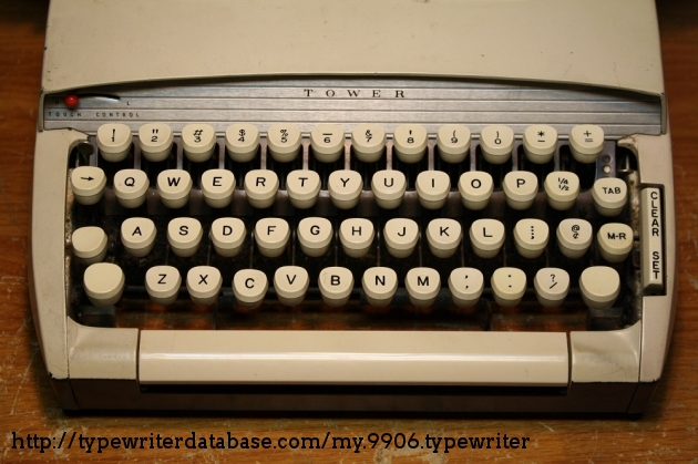The keys are all identical to the Sterling's and other contemporary SCM typewriters.