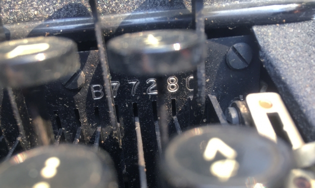 """Remington """"Portable 5"""" serial number location..."""