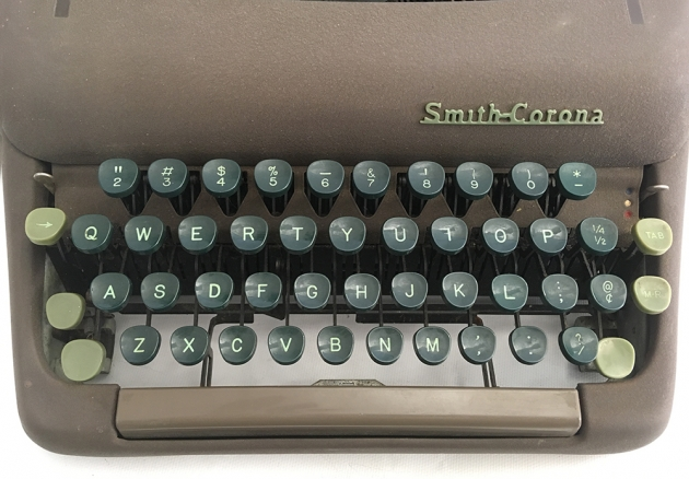 """Smith Corona """"Silent"""" from the keyboard..."""