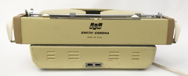 """Smith Corona """"Coronet Electric 12"""" from the back..."""