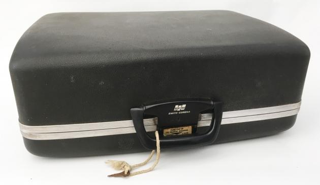 "Smith Corona ""Coronet Electric 12"" travel case..."