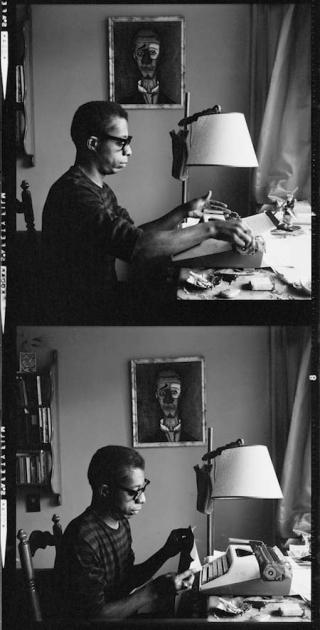 Author James Baldwin used this model typewriter.